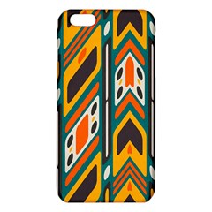Distorted shapes in retro colors   			iPhone 6 Plus/6S Plus TPU Case