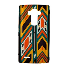Distorted shapes in retro colors   			LG G4 Hardshell Case
