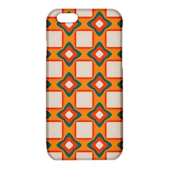 Flowers and squares pattern     			iPhone 6/6S TPU Case