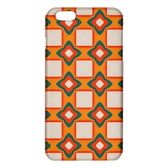 Flowers and squares pattern     			iPhone 6 Plus/6S Plus TPU Case
