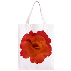 Red Rose Photo Classic Light Tote Bag