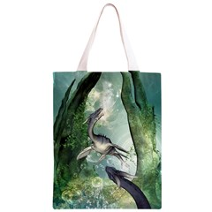 Awesome Seadraon In A Fantasy World With Bubbles Classic Light Tote Bag