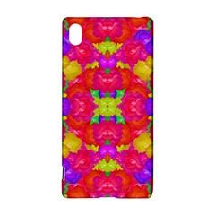 Multicolor Floral Check Sony Xperia Z3+