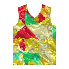 Colorful 3D texture   Men s Basketball Tank Top