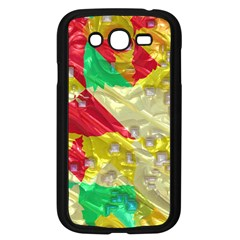 Colorful 3d Texture   samsung Galaxy Grand Duos I9082 Case (black)