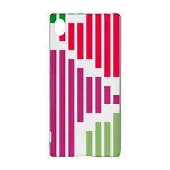 Vertical stripes    			Sony Xperia Z3+ Hardshell Case