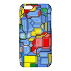 3d shapes 			iPhone 6/6S TPU Case
