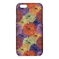 Vintage Floral Collage Pattern iPhone 6/6S TPU Case