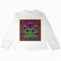 Ladies Looking At Beauty And Love Kids Long Sleeve T-Shirts
