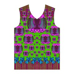 Ladies Looking At Beauty And Love Men s Basketball Tank Top