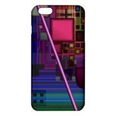 Jewel City, Radiant Rainbow Abstract Urban iPhone 6 Plus/6S Plus TPU Case