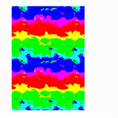 Colorful Digital Abstract  Large Garden Flag (two Sides)
