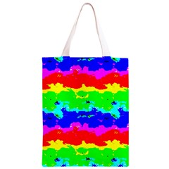 Colorful Digital Abstract  Classic Light Tote Bag