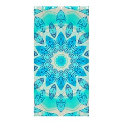 Blue Ice Goddess, Abstract Crystals Of Love Shower Curtain 36  X 72  (stall)