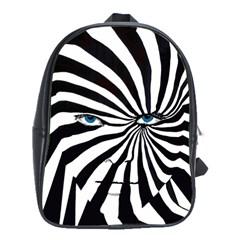 Zebra Backpack School Bag (large)