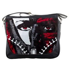 Zipper Face Messenger Bag