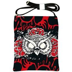 Dark Owl Shoulder Sling Bag