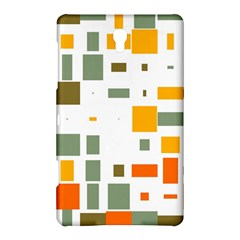 Rectangles And Squares In Retro Colors  			samsung Galaxy Tab S (8 4 ) Hardshell Case