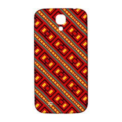 Distorted Stripes And Rectangles Pattern      			samsung Galaxy S4 I9500/i9505 Hardshell Back Case