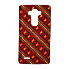 Distorted Stripes And Rectangles Pattern      lg G4 Hardshell Case