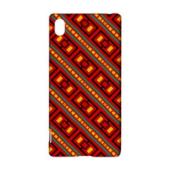 Distorted stripes and rectangles pattern      Sony Xperia Z3+ Hardshell Case