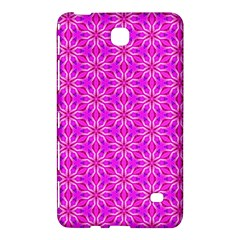 Pink Snowflakes Spinning In Winter Samsung Galaxy Tab 4 (7 ) Hardshell Case