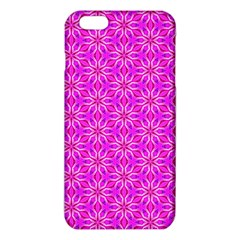 Pink Snowflakes Spinning In Winter iPhone 6 Plus/6S Plus TPU Case