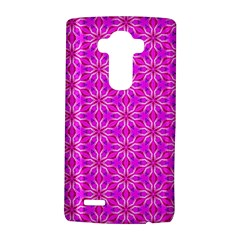 Pink Snowflakes Spinning In Winter Lg G4 Hardshell Case