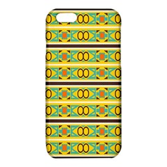 Circles and stripes pattern       			iPhone 6/6S TPU Case