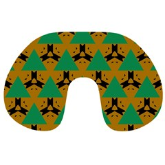 Triangles And Other Shapes Pattern        Travel Neck Pillow