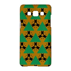 Triangles And Other Shapes Pattern        samsung Galaxy A5 Hardshell Case