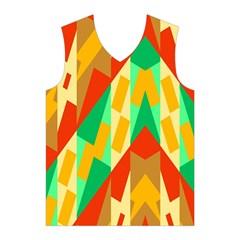 Angles         Men s Basketball Tank Top