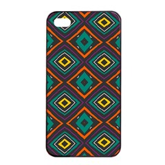 Rhombus Pattern          			apple Iphone 4/4s Seamless Case (black)