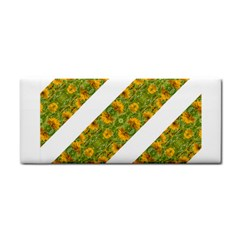 Indian Floral Pattern Stripes Hand Towel