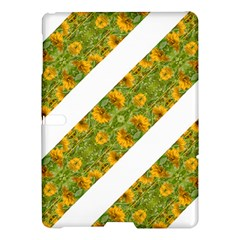 Indian Floral Pattern Stripes Samsung Galaxy Tab S (10 5 ) Hardshell Case