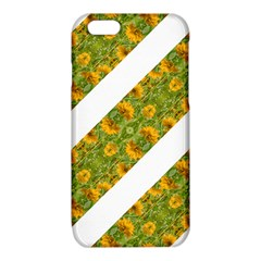 Indian Floral Pattern Stripes iPhone 6/6S TPU Case