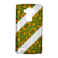 Indian Floral Pattern Stripes LG G4 Hardshell Case