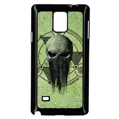 Awesome Green Skull Samsung Galaxy Note 4 Case (black)