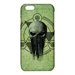 Awesome Green Skull iPhone 6/6S TPU Case