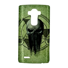 Awesome Green Skull LG G4 Hardshell Case