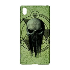 Awesome Green Skull Sony Xperia Z3+
