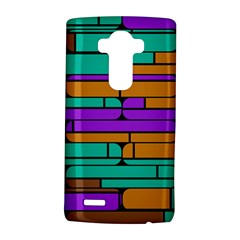 Round corner shapes in retro colors            			LG G4 Hardshell Case