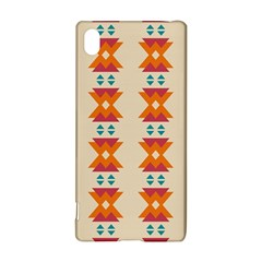 Triangles tribal pattern              			Sony Xperia Z3+ Hardshell Case