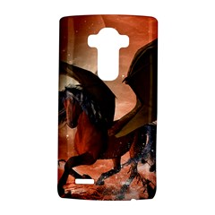 Wonderful Dark Unicorn In The Night Lg G4 Hardshell Case