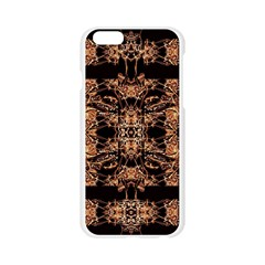 Dark Ornate Abstract  Pattern Apple Seamless iPhone 6/6S Case (Transparent)