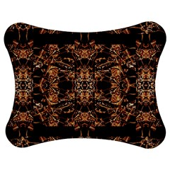 Dark Ornate Abstract  Pattern Jigsaw Puzzle Photo Stand (Bow)