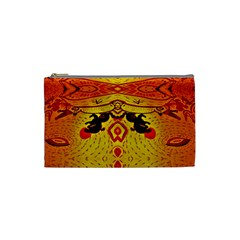 Green Sun Cosmetic Bag (small)