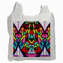 Sun Dial Recycle Bag (one Side)