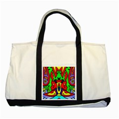 Heads Up Two Tone Tote Bag