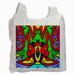Heads Up Recycle Bag (one Side)